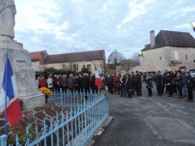 Centenaire de la guerre de 14-18 : beau succès de la cérémonie à Lavercantière