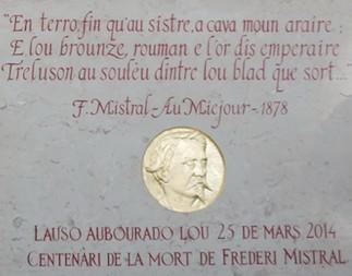 107 en anniversàri de la despartido de Frederi Mistral